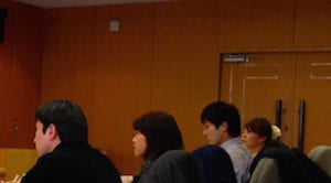 大阪話し方教室の講義の様子