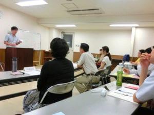 話し方教室の講義風景の写真