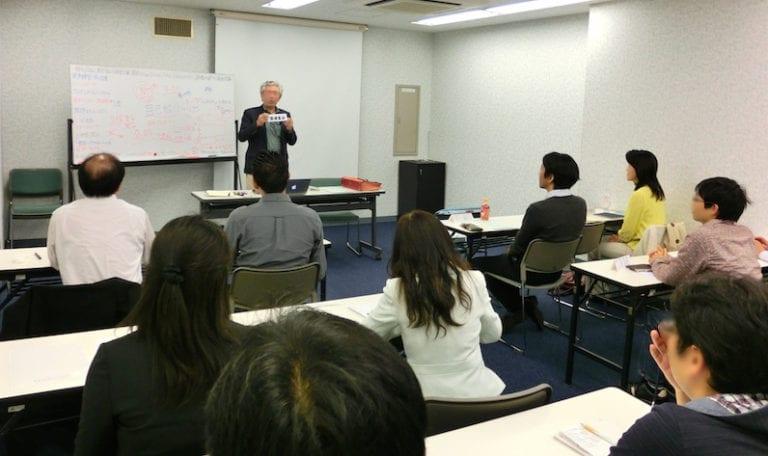話し方教室のあがり対策練習